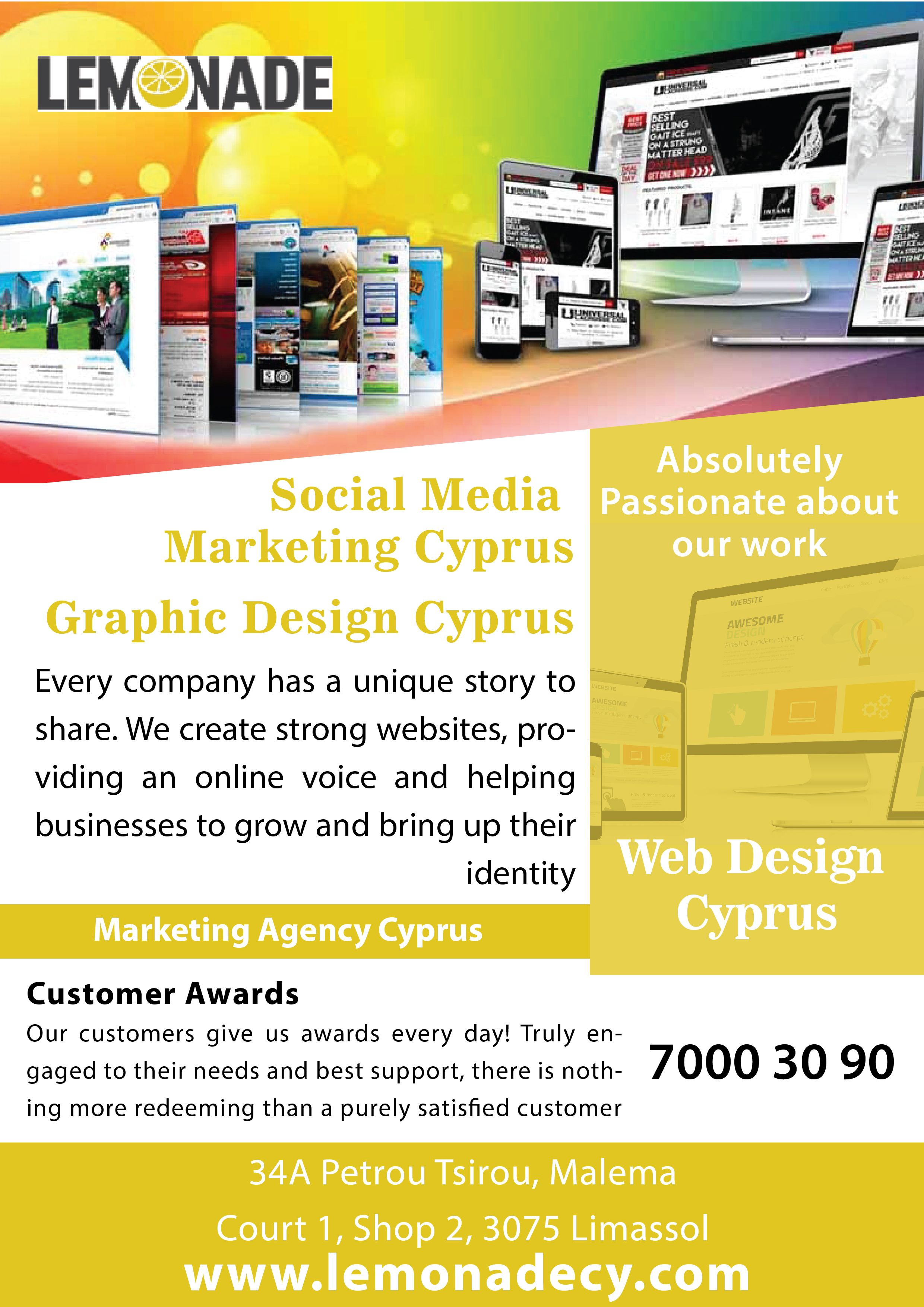 Web Design Cyprus In 2020 Web Design Web Design Services Online Visibility