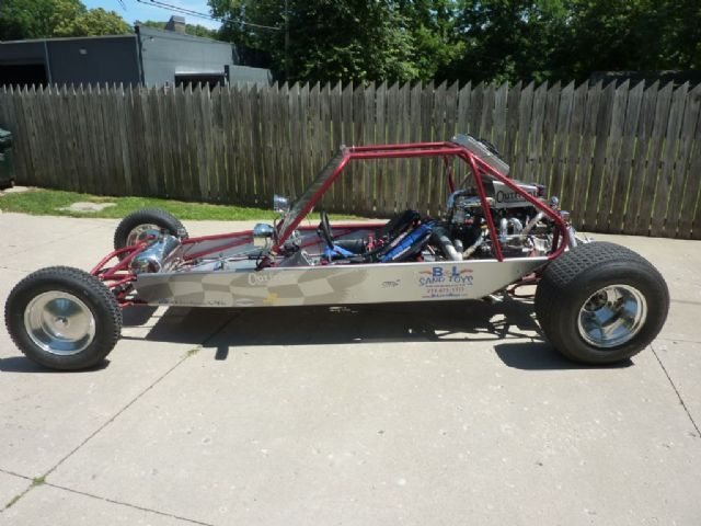 2014 custom sand rail Sand Rail , red for sale in commerce
