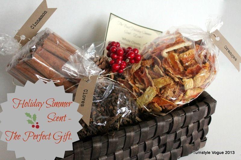 Making christmas gift baskets driveeapusedmotorhomefo diy simmer scent gift basketfor christmas or hostess solutioingenieria Choice Image