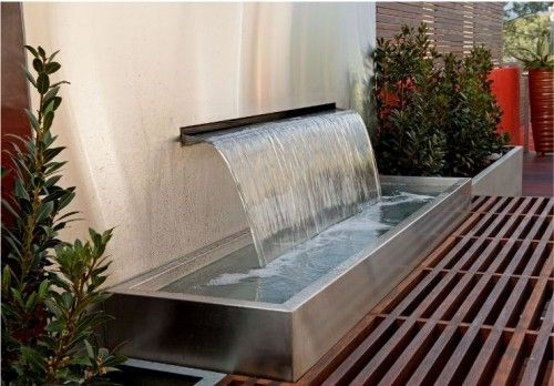 Great Modern Fountain Jardines Para Casas Fuentes Para 400 x 300