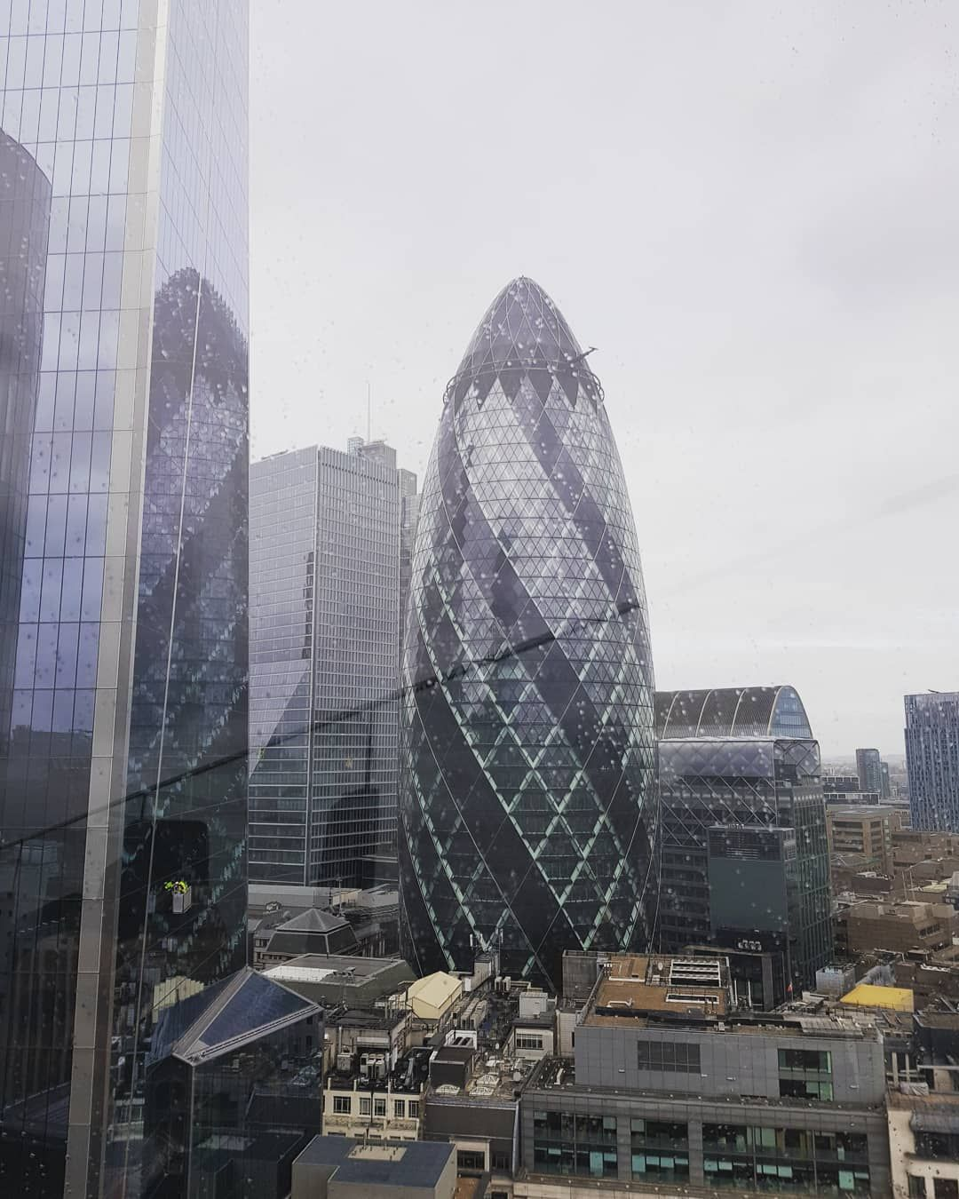 The Gherkin View From 120 Fen Court Fenchurch Street 120fenchurchstreet London Gherkin Rooftopgarden Ec3m Rooftop Garden Sydney Opera House Opera House