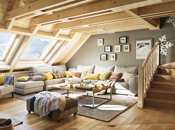 La caba a de la nieve casas el mueble decoraci n de - Cabanas de madera en la nieve ...