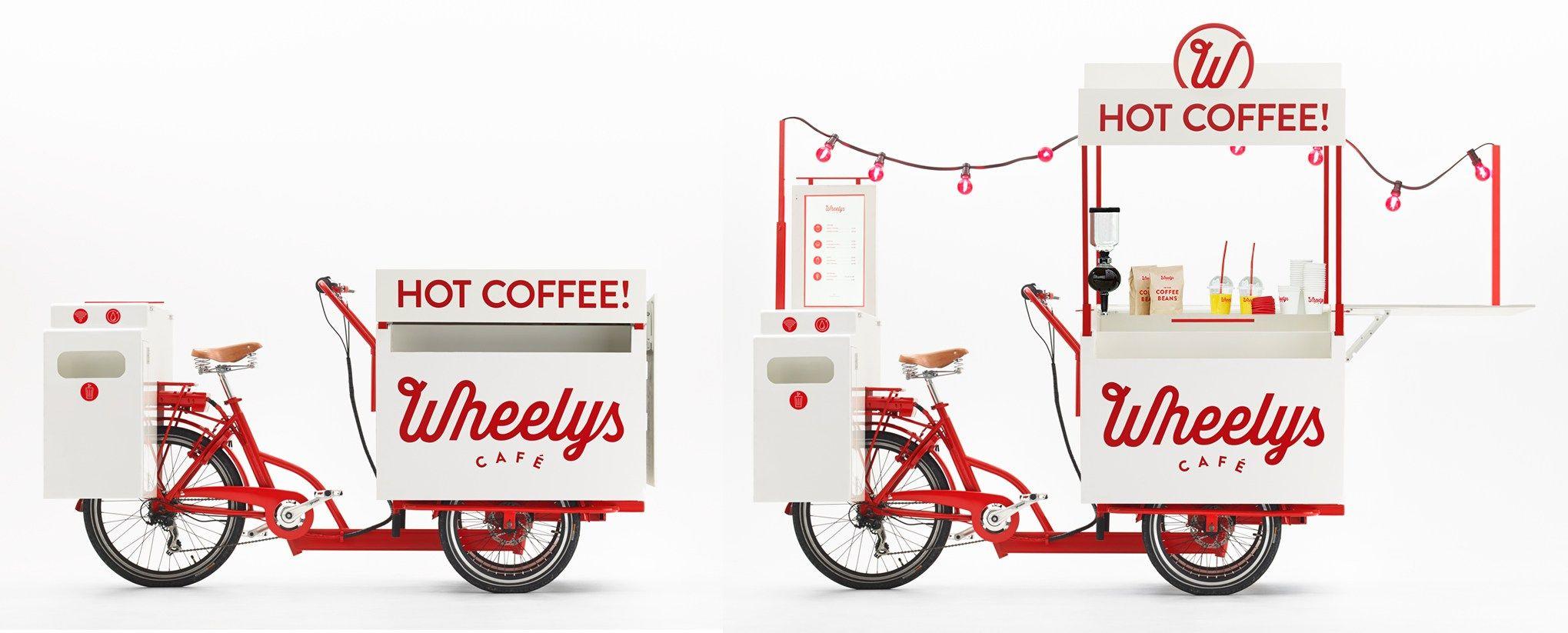 Wheelys Cafe Mobile Cafe Bicycle Cafe Coffee Bike