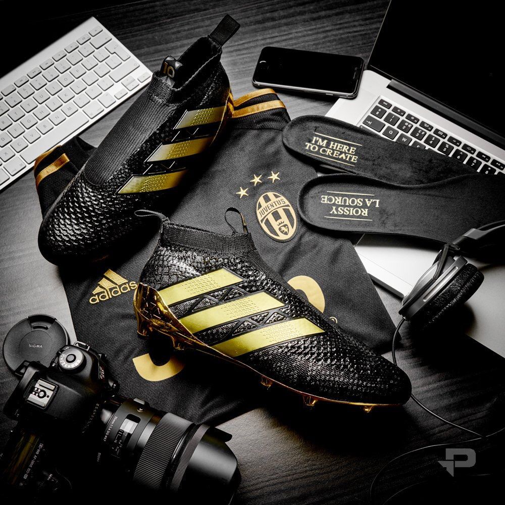 Pogba' Adidas Ace16 Black and Gold | Best soccer shoes, Best