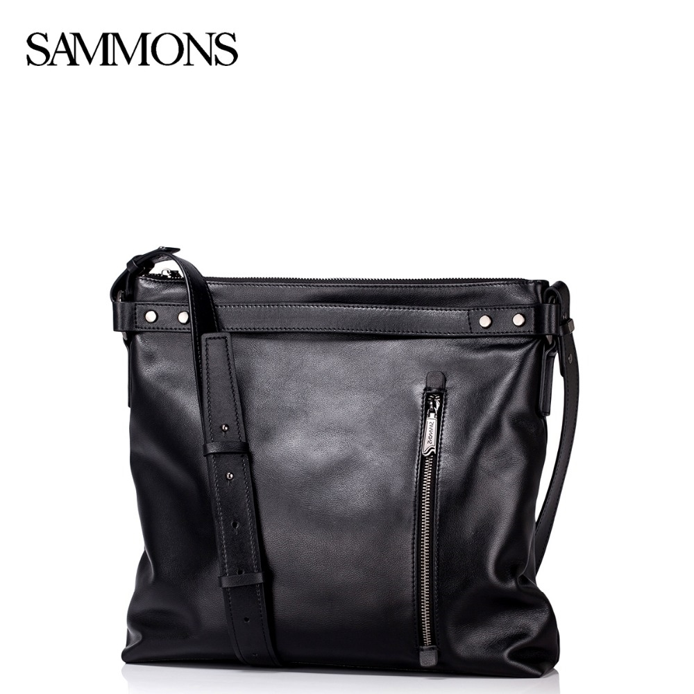 74.40$  Watch here - http://ali8r5.worldwells.pw/go.php?t=32618537292 - Sammons Men's Genuine Leather Messenger Bags Man Casual Crossbody Bags Male Leisure Travel Tote Satchel Brand Bolsas SZ5304 74.40$