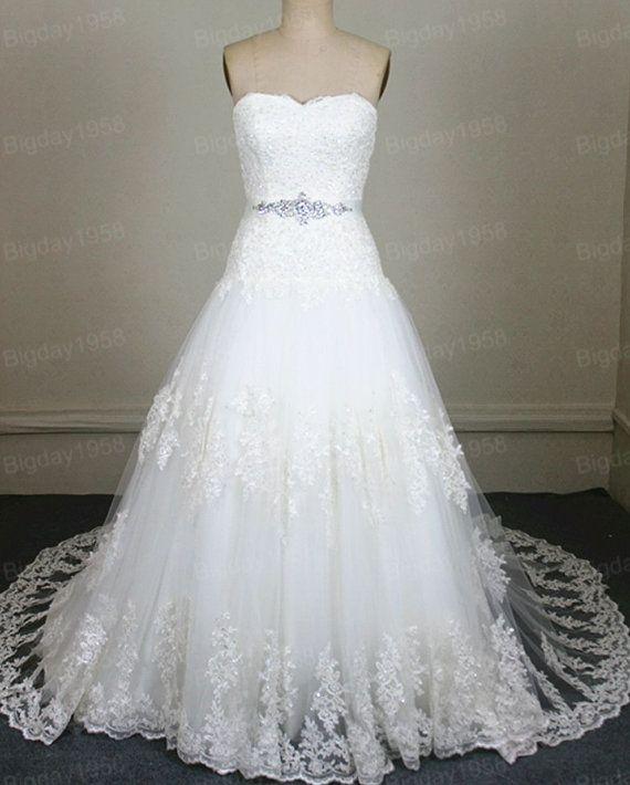 Lace Wedding Dresses by Bigday1958 on Etsy, $268.00 | Bodas ...