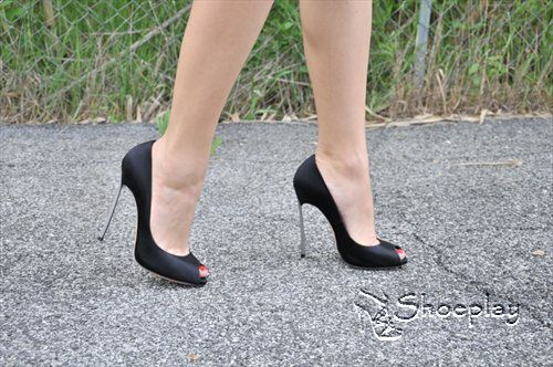 My beloved casadei blade peep toe pumps shoes i love - My peep toes ...