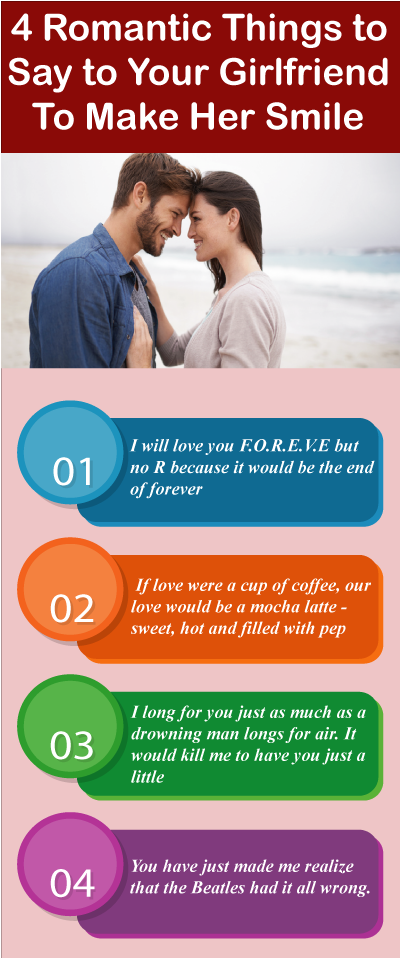 7 Romantic Things To Say To Your Girlfriend To Make Her Smile Hair