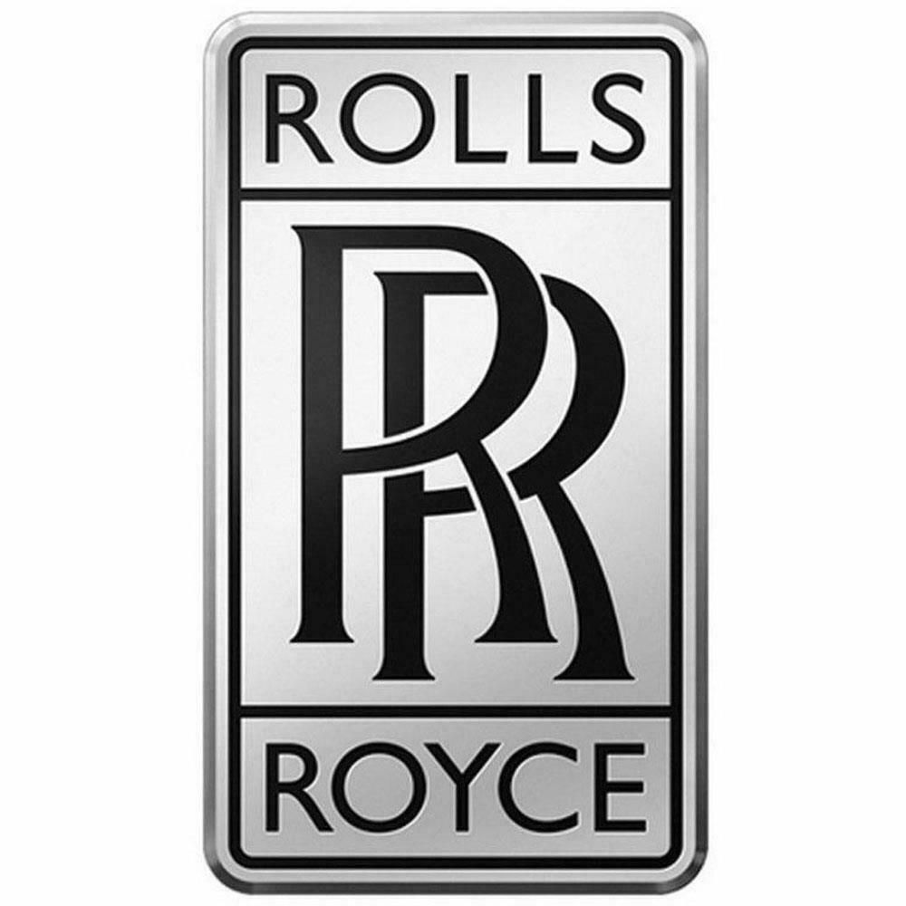 Sponsored Ebay Rolls Royce Badge Silver Black Color Car Radiator Rr Logo Medium Size Rolls Royce Logo Rolls Royce Royce