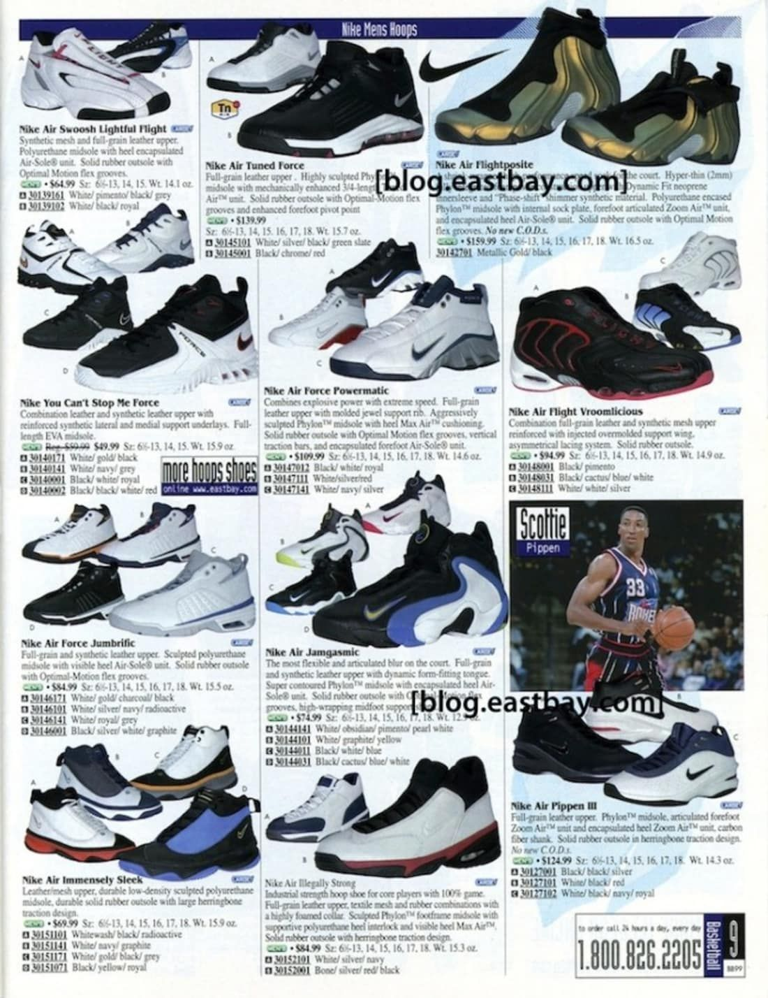 Nike You Can t Stop Me Force - 25 Classic Sneakers From Vintage Eastbay  Catalogs e5ae82d3e