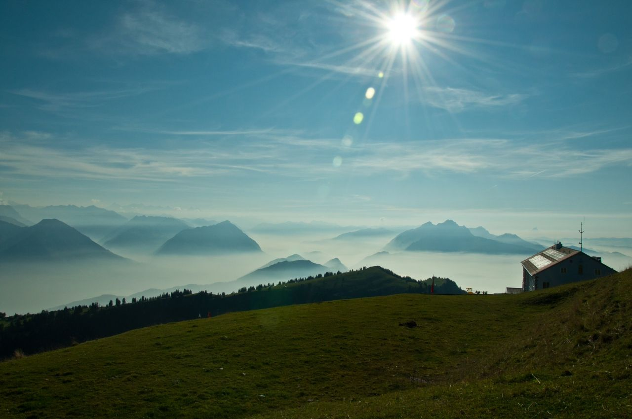 mt rigi switzerland this is the actual mountain top my husband