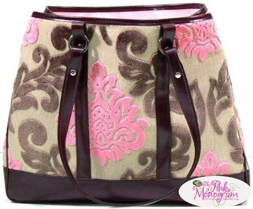 Glenda Gies Baby Eloise Handbag With Pink And Chocolate ...