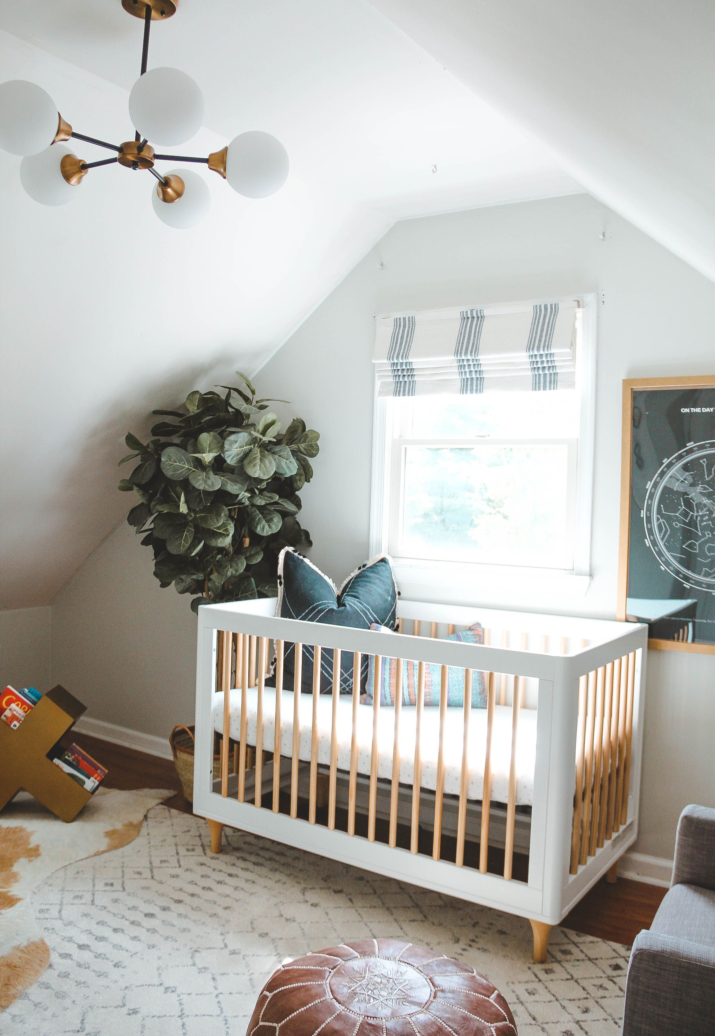 Eclectic Neutral Nursery With Boho Accents Nurserydecor Babynursery