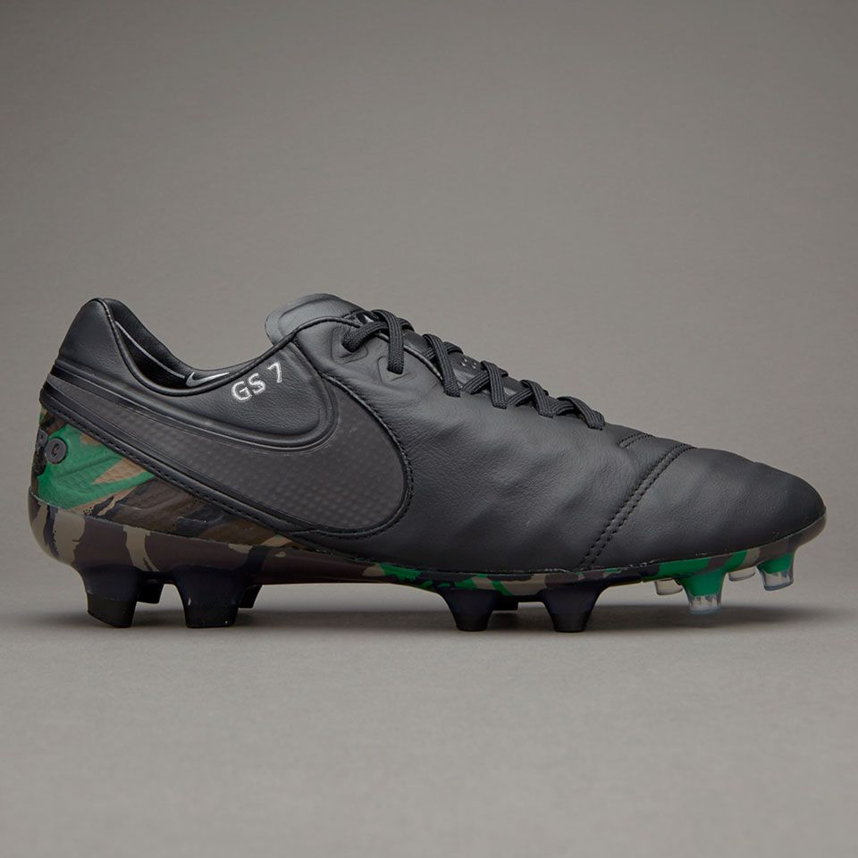 Nike Tiempo Legend VI SE FG - Camo/Black - Mens Boots - Tiempo - Camo/Black