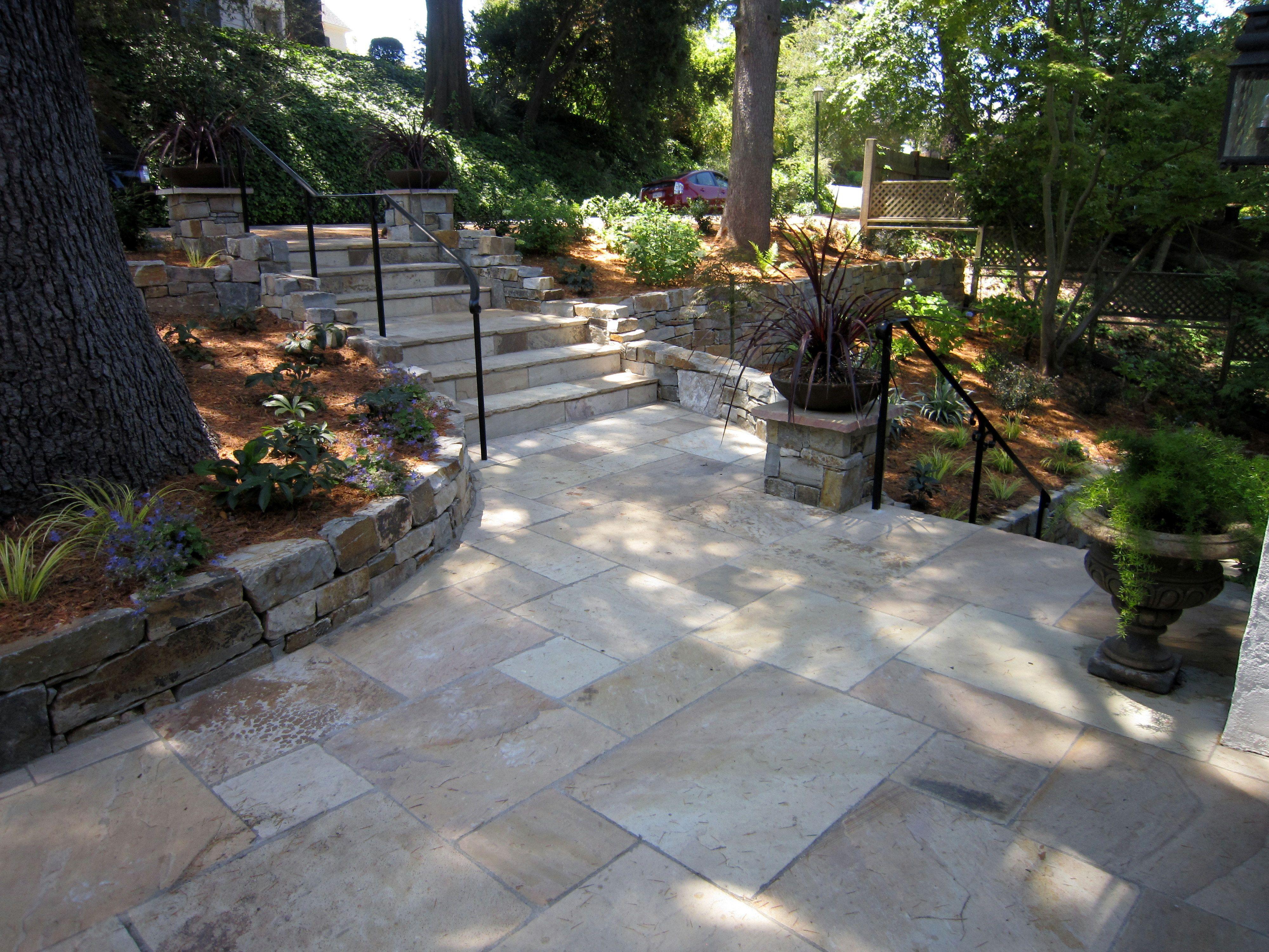 Nice Rock? Concrete Patio. Do Not Want Plain Concrete   Want It To Look  Iike Stone Or Brick But Be Low U2026   Pinteresu2026