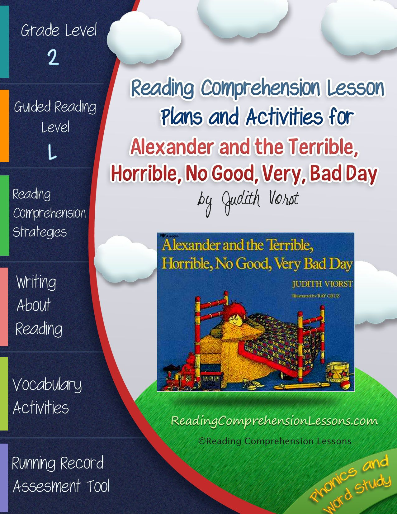 Alexander And The Terrible Horrible No Good Very Bad Day Book Companion