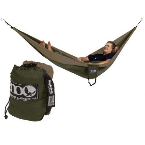 Eagles Nest Outfitters DoubleNest Camo Portable Hammock for Two ENO