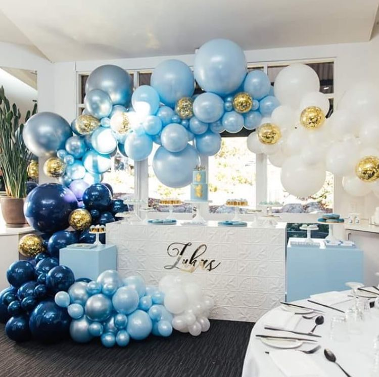 Baby Shower Decorations, Baby Shower Balloons Y Baby