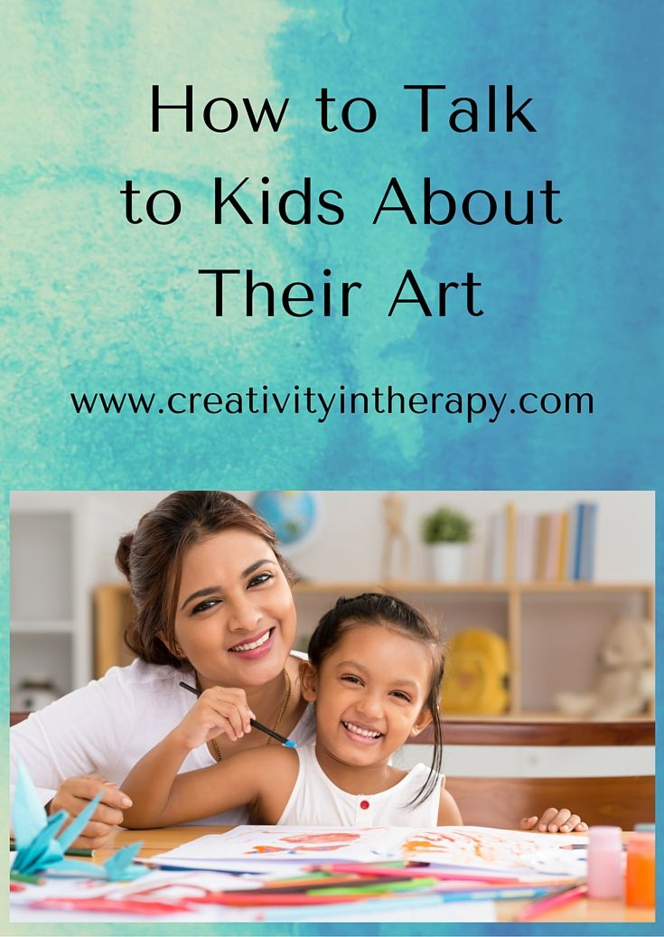 Creativity in Therapy: How to Talk to Kids About Their Art