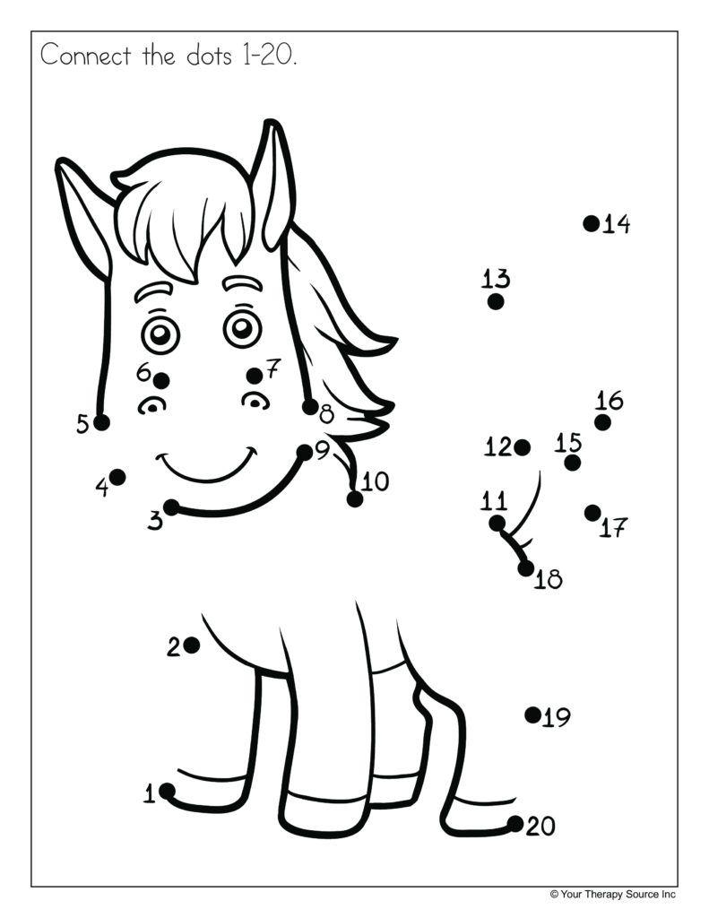 Dot To Dot 0 20 Kindergarten Math Counting Math Worksheets Math Counting Worksheets