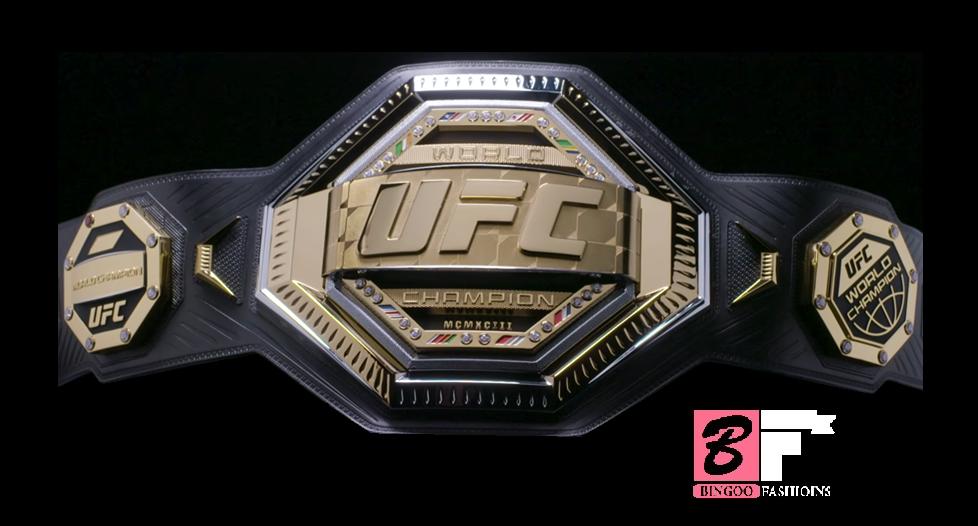 New Undisputed Ufc Middleweight Championship Replica Belt Title Ufc Art Promotion William Morris Endeavor