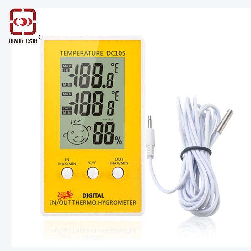 Find More Temperature Gauges Information About Unifish Lcd Digital Thermometer Hygrometer Digital Thermometer Thermometer Temperature