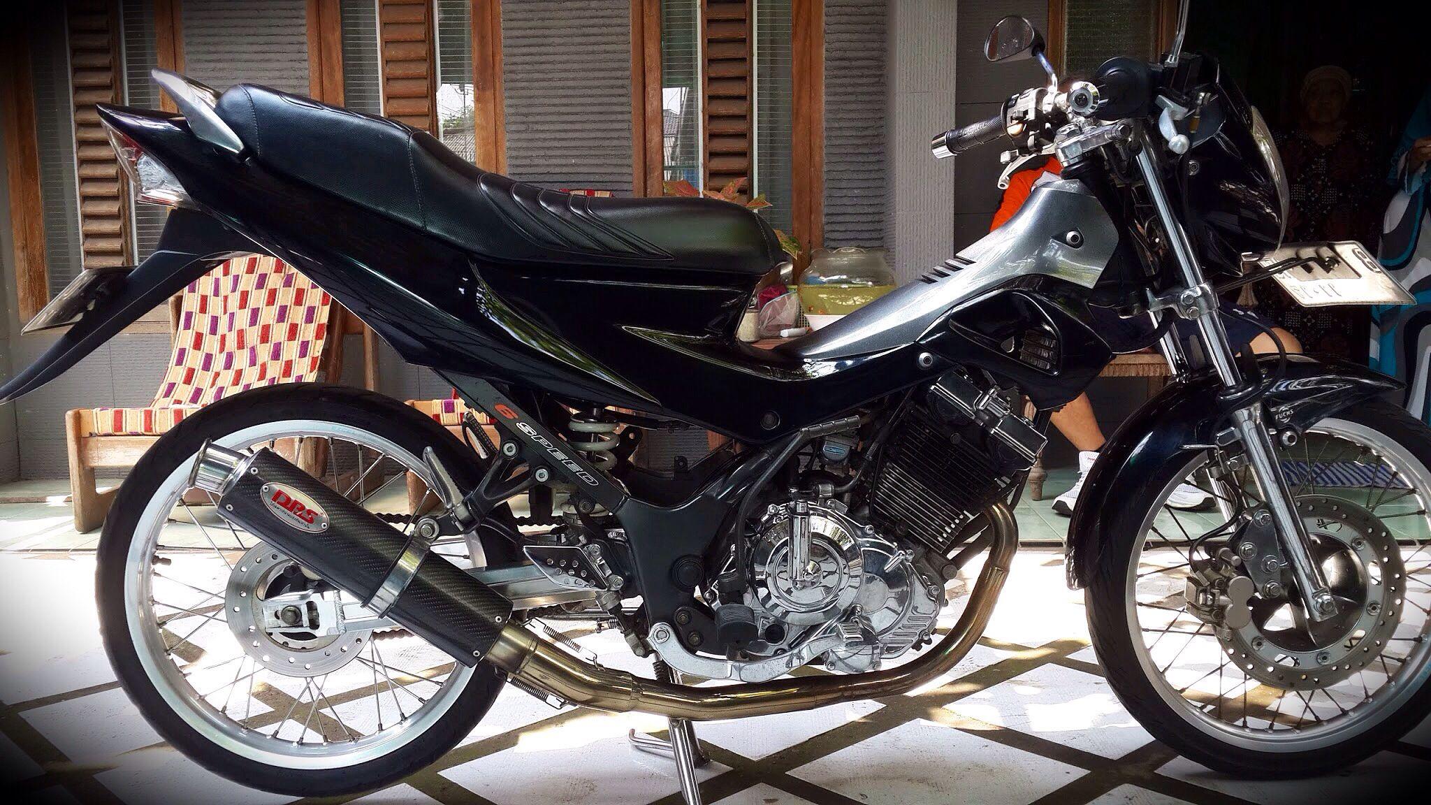 Kumpulan Modifikasi Motor Satria Fu Balap Terbaru