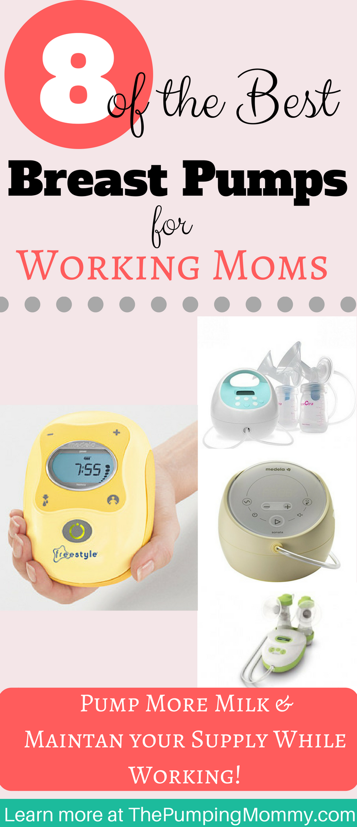 394c7be245b 8 of The Best Breast Pumps for Working Moms What is the best breast pump  for working moms  What are some things to look for when buying a pump  before going ...