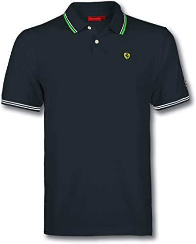 Enjoy exclusive for Ferrari SF Italy Polo Shirt Black Small online #newferrari