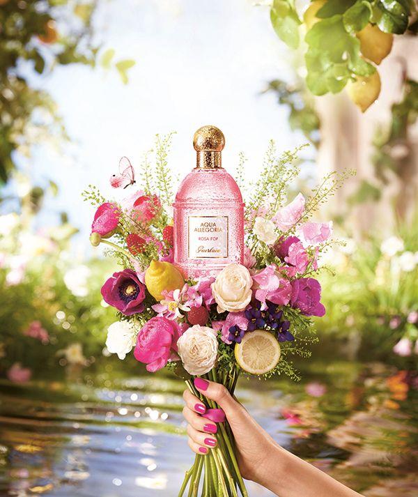 Guerlain Aqua Allegoria: Pera Granita - Hey Pretty | Perfume adverts, Rose  perfume, Rose fragrance