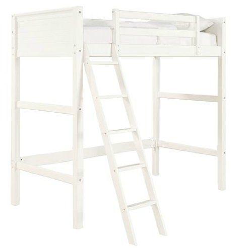 Best Amazon Com Your Zone Twin Wood Loft Style Bunk Bed Walnut 400 x 300