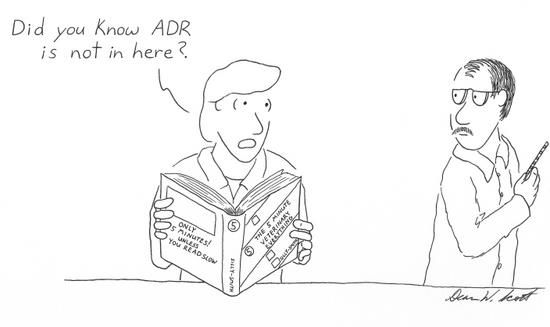 ADR is in my terminology book!