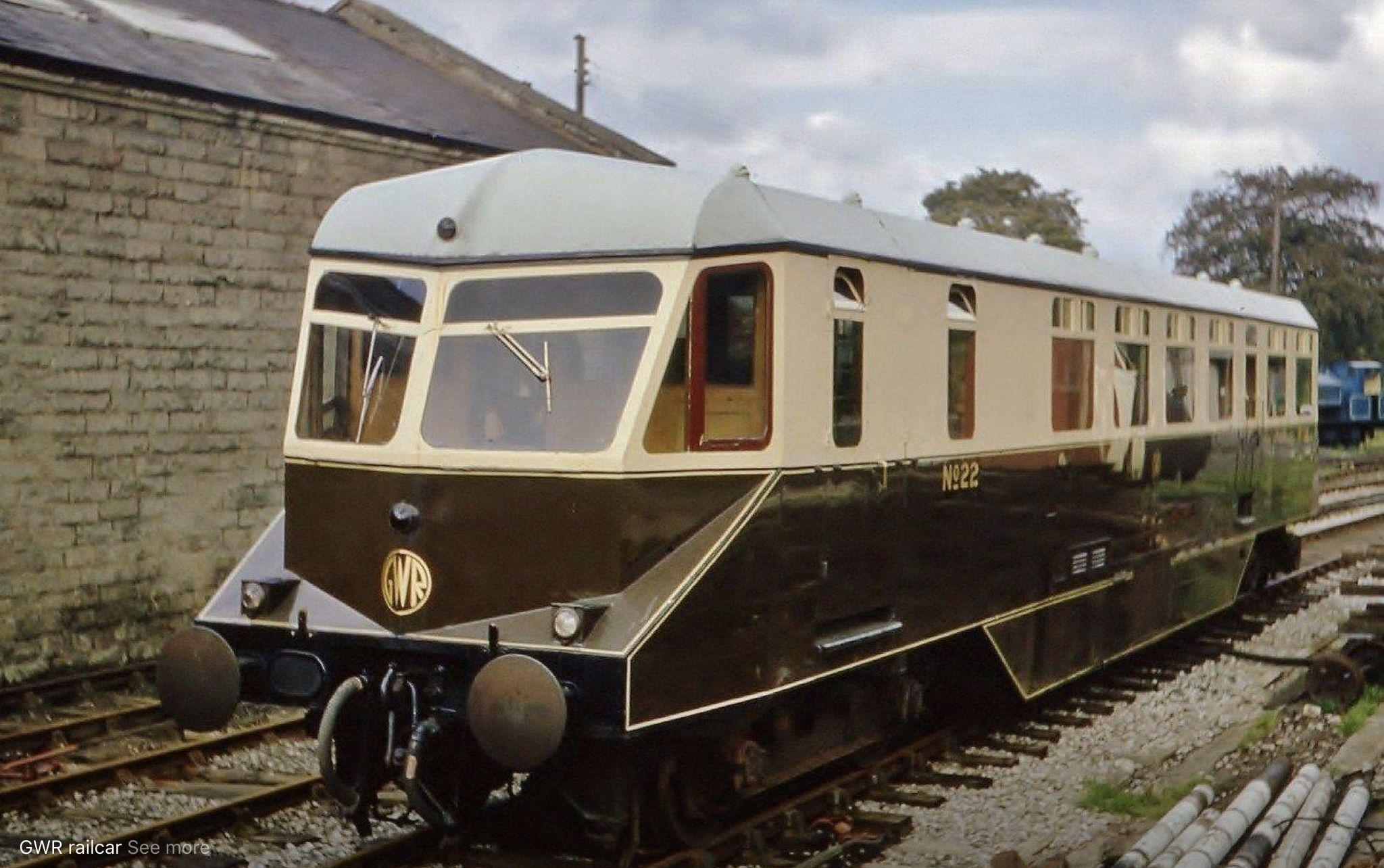 Gwr Railcar Trains Industrial Design Pinterest Auto Train
