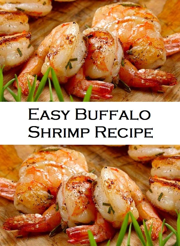 Easy Buffalo Shrimp Recipe #buffaloshrimp