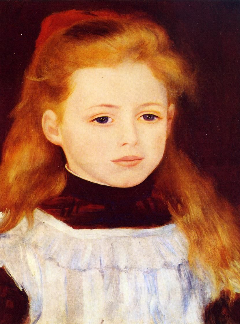 White apron price - Little Girl In A White Apron Also Known As Portrait Of Lucie Berard Pierre