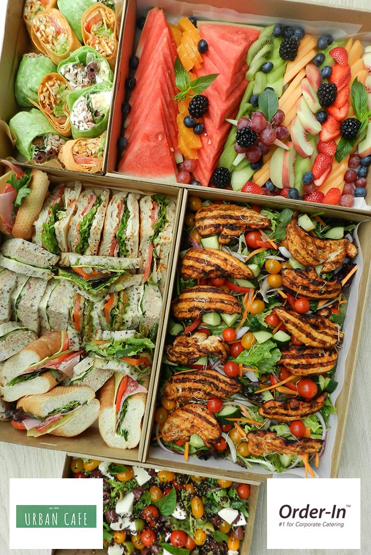 Great Office Lunch Party Ideas from i.pinimg.com