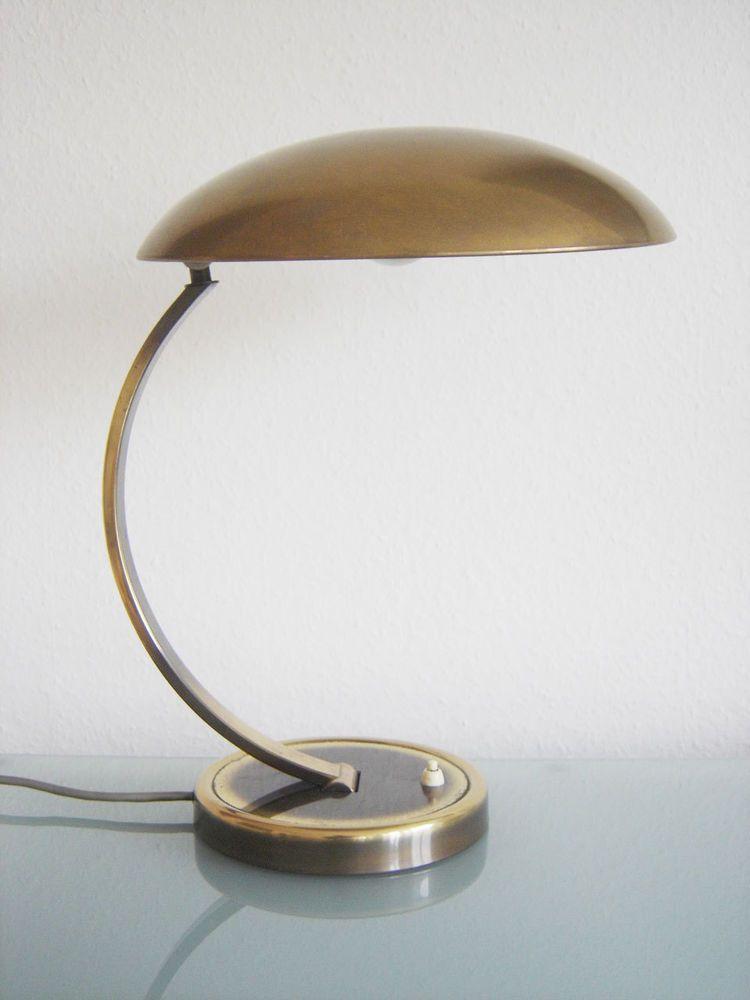 Details zu Messing Tischlampe Modell 6750 \