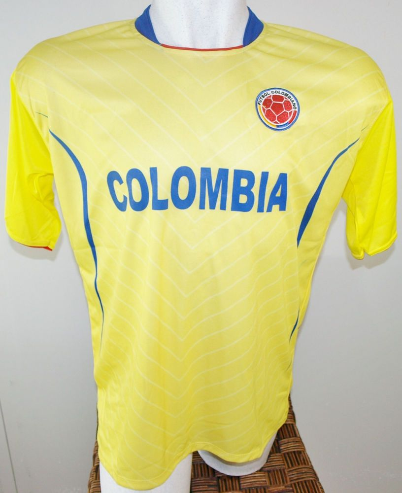 COLOMBIA SOCCER JERSEY TSHIRT DRAKO FÚTBOL ONE SIZE L