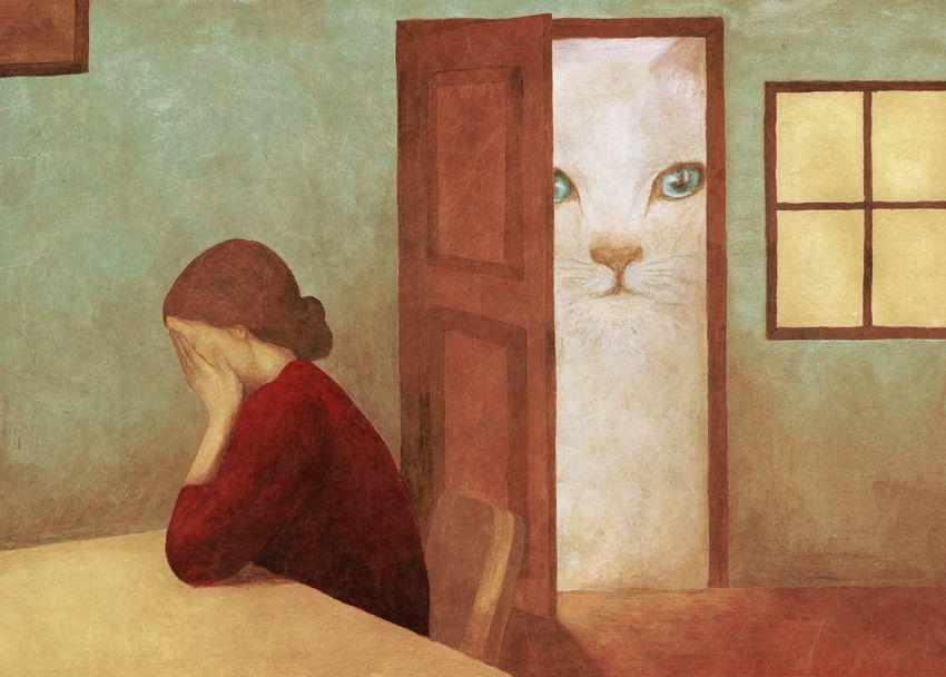 Опять этот гигантский кот | Кошачий арт, Кошачьи картины ...