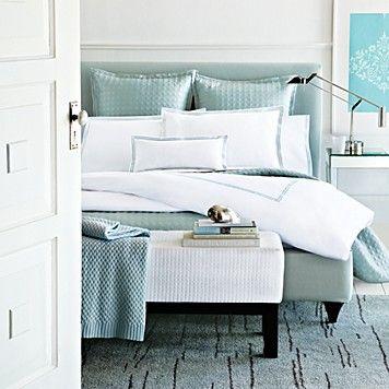 Hudson Park Italian Percale Bedding Seaglass Bedding Bed Bath Categories Home Bloomingdale Sregistry Bedding Master Bedroom Bed Home