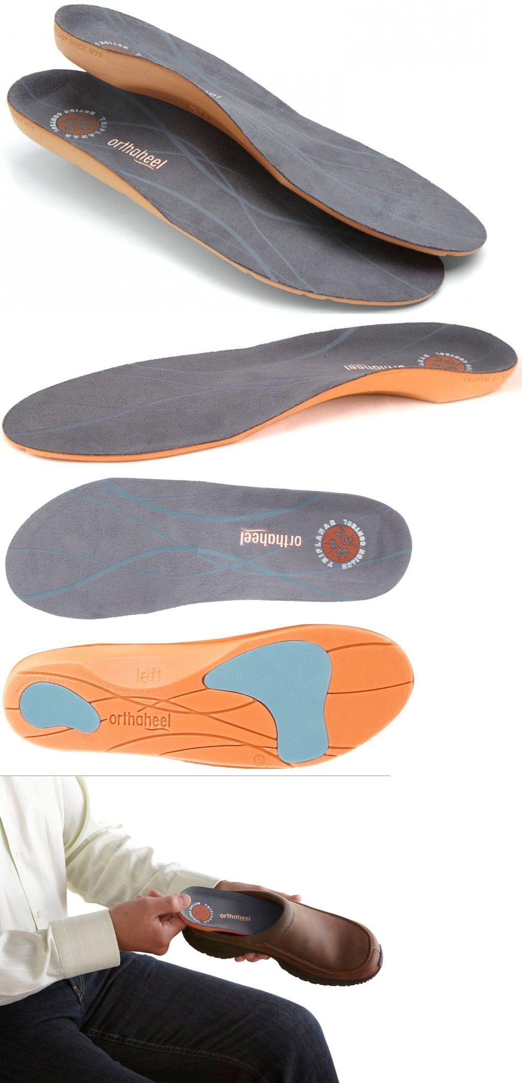 9e0a0bbbb2 Insoles 169284: Vionic Orthaheel Relief Orthotic Unisex Full Length Shoe Inserts  Insoles Xs-Xl