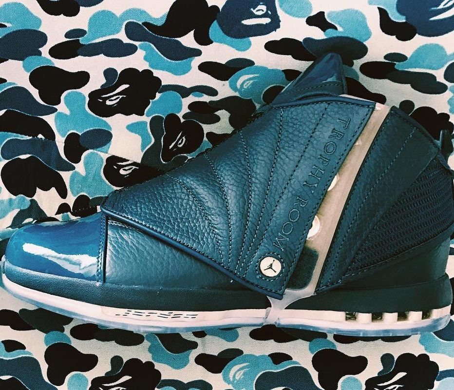 Release Date Air Jordan 16 Trophy Room French Blue More