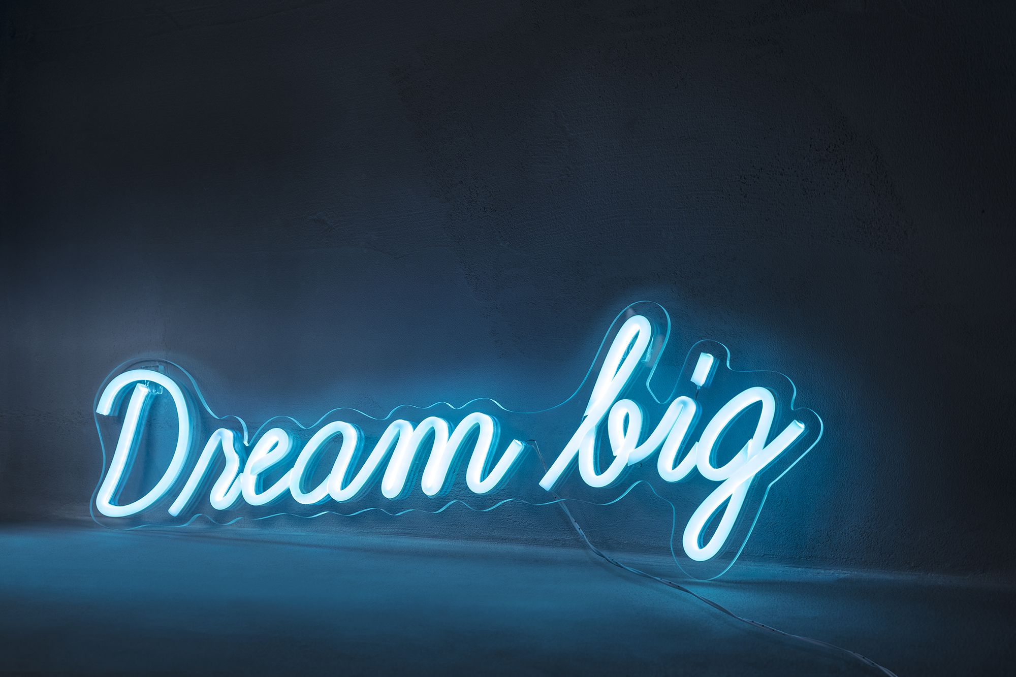 Dream big neon sign wall light in 2020 neon signs wall