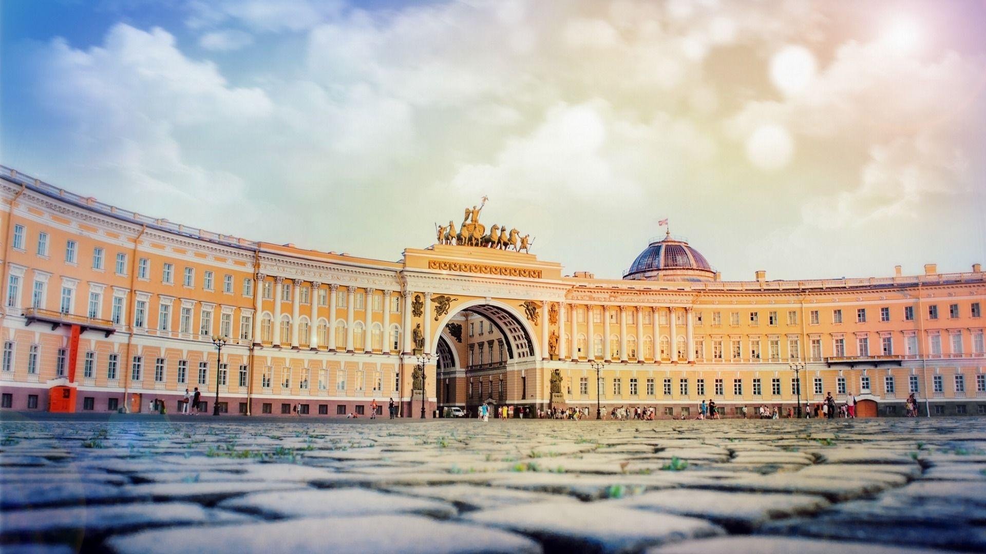 Скачать обои питер, россия, Дворцовая площадь, Санкт ...