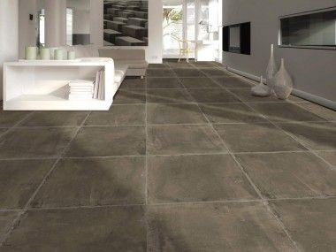Futura District Taupe Matt Glazed Porcelain Floor Tile 600 X