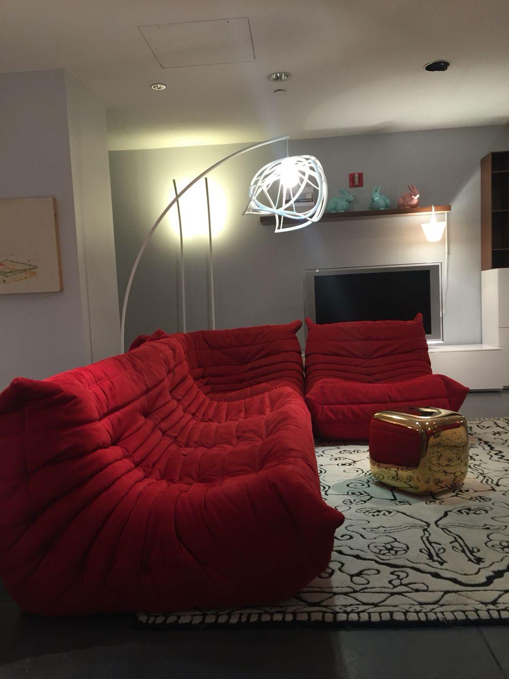Ligne Roset Nyc Showroom Togo Sofa