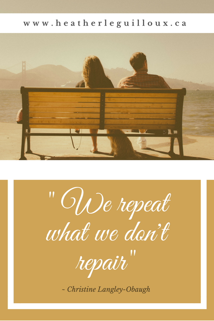 We Repeat What We DonT Repair  Quote From Blog Post About