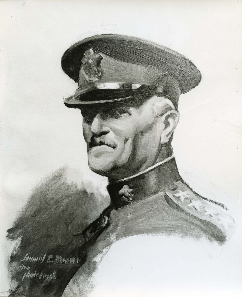 Portrait of General Pershing, Samuel E. Brown (1903-1983)   Flickr - Photo Sharing!