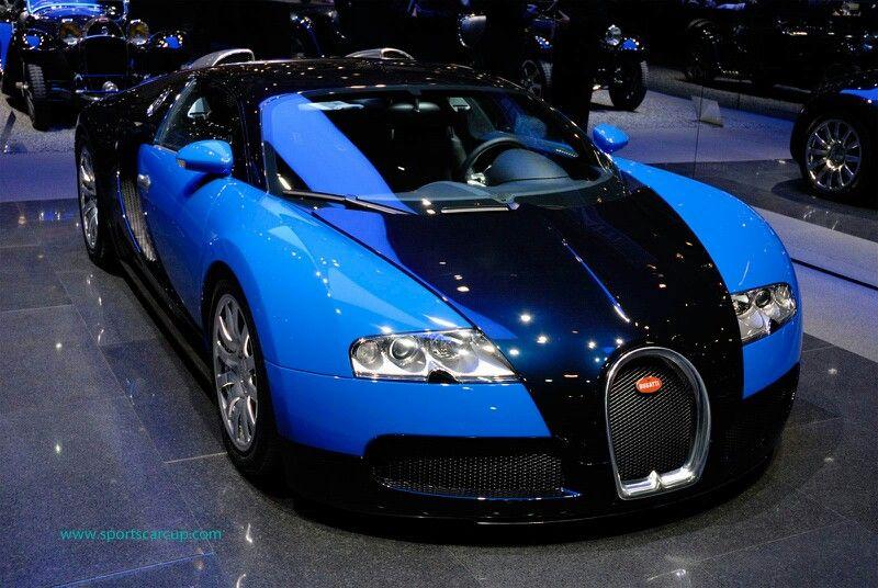 Blue Car Bugatti Veyron 16 Top Sports Cars Bugatti