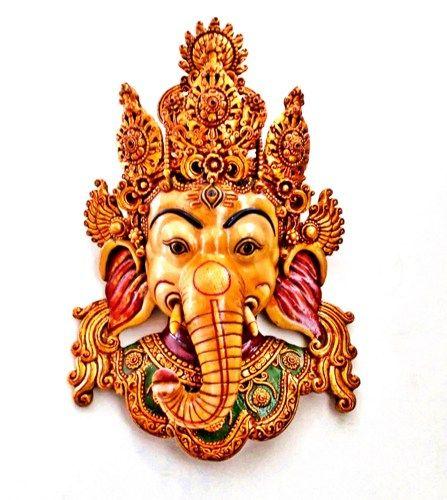 Ganesha Symbolism Bring Good Luck Large Golden